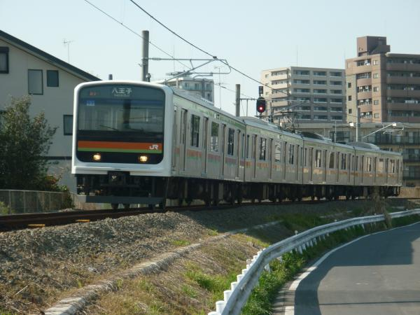 2014-04-12 八高線209系ハエ63編成 八王子行き