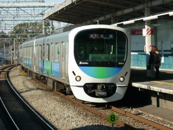 2014-01-12 西武32106F+38114F 急行池袋行き1