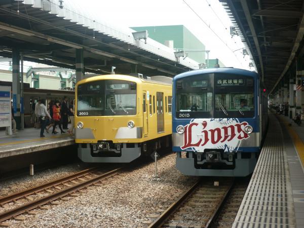 西武3003F 3015F 2012-06-23