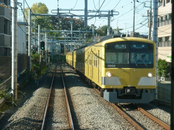 2013-11-23 西武3001F 各停池袋行き