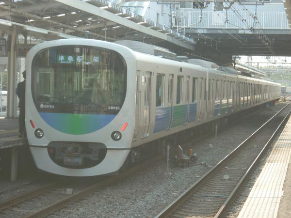 2014-04-26 西武38115F 準急飯能行き 4137レ