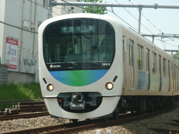 2014-05-01 西武32104F+38112F 準急池袋行き1 4304レ