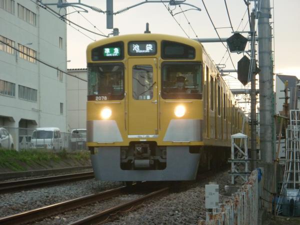 2014-05-01 西武2459F+2077F 準急池袋行き 4218レ