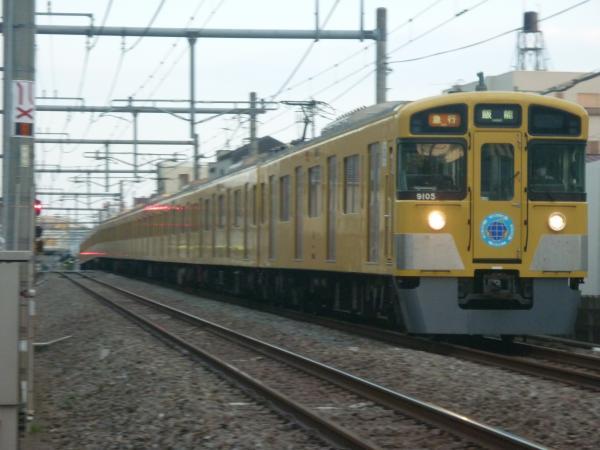 2014-05-01 西武9105F 急行飯能行き 2169レ