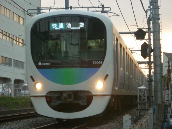 2014-05-01 西武30101F 快速池袋行き 3118レ