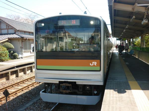 2014-03-31 八高線205系ハエ82編成 川越行き3