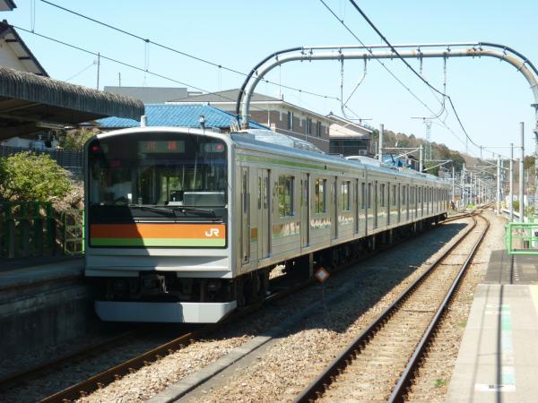 2014-03-31 八高線205系ハエ82編成 川越行き4