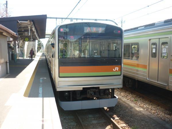 2014-03-31 八高線205系ハエ83編成 八王子行き2