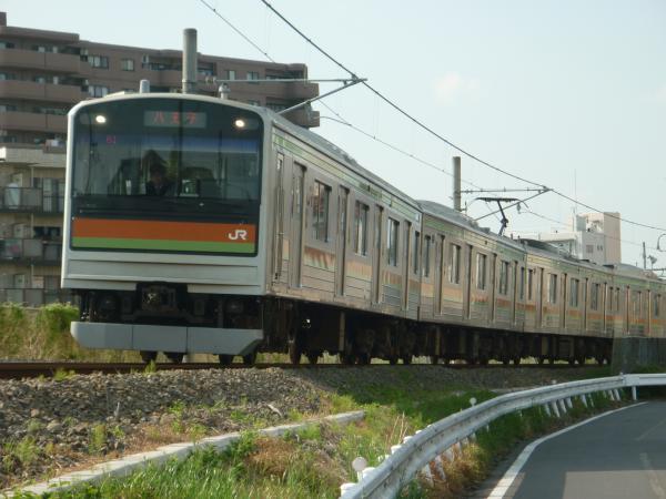 2014-05-02 八高線205系ハエ83編成 八王子行き1