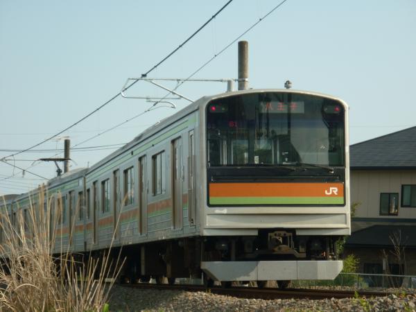 2014-05-02 八高線205系ハエ83編成 八王子行き2
