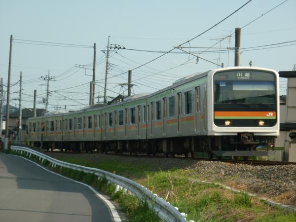 2014-05-02 八高線209系ハエ62編成 川越行き
