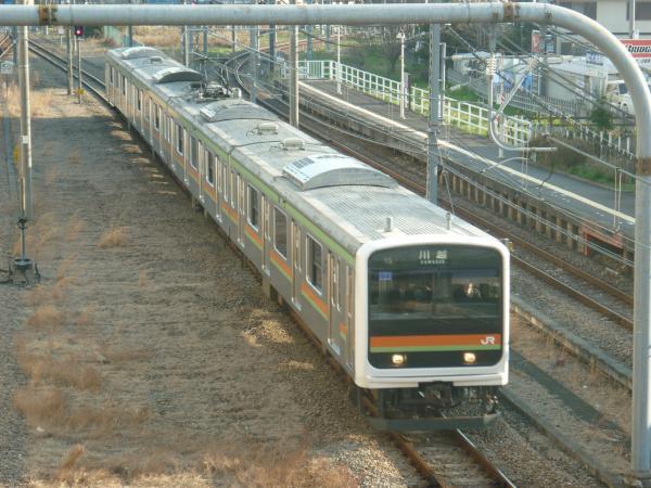2014-03-28 八高線209系ハエ64編成 川越行き