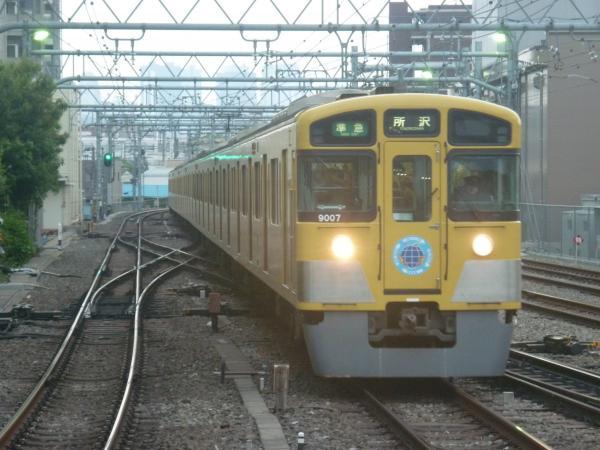 2014-05-03 西武9107F 準急所沢行き1
