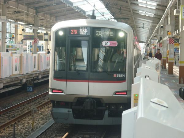 2014-05-18 東急5154F 各停元町・中華街行き