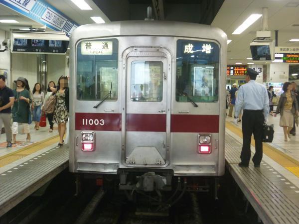 2014-05-18 東武11003F 普通成増行き