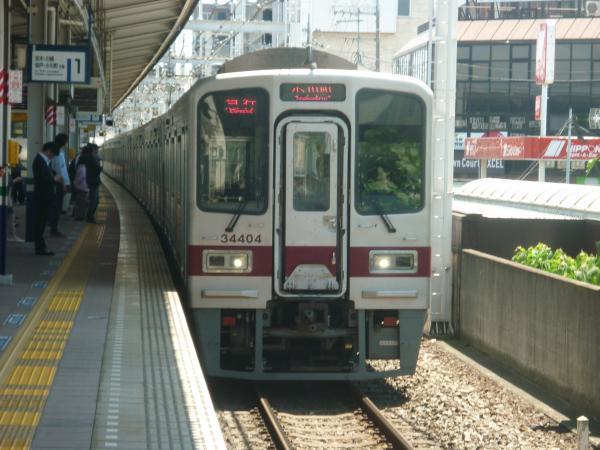 2014-05-18 東武31604F+31404F 急行小川町行き