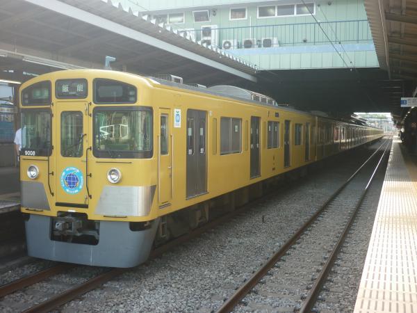 2014-05-24 西武9108F 準急飯能行き2 4139レ