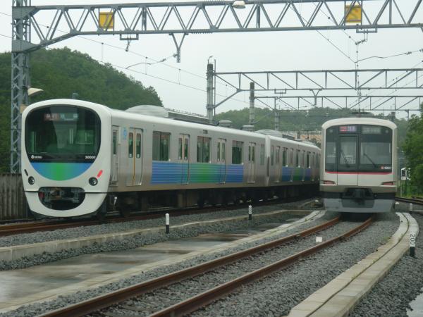 2014-06-08 西武30101F 東急4101F 武蔵丘1