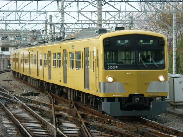 2014-03-31 西武3009F 各停所沢行き1 5315レ