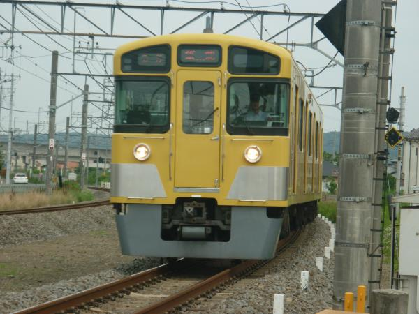 2014-06-21 西武2073F 各停飯能行き 5115レ