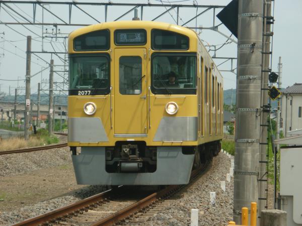 2014-06-21 西武2077F 回送