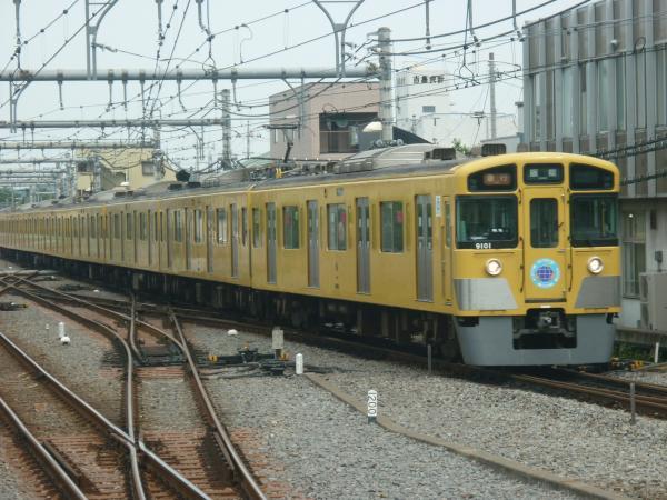 2014-06-21 西武9101F 急行飯能行き 2139レ