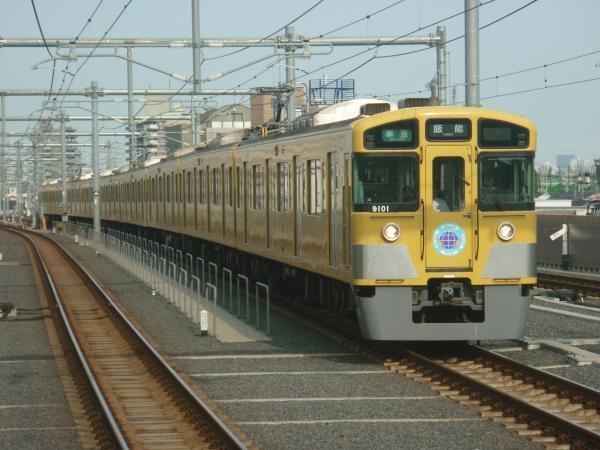 2014-06-21 西武9101F 準急飯能行き 4143レ