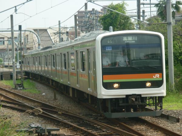 2014-06-21 八高線209系ハエ64編成 高麗川行き