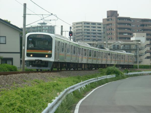 2014-06-21 八高線209系ハエ72編成 八王子行き