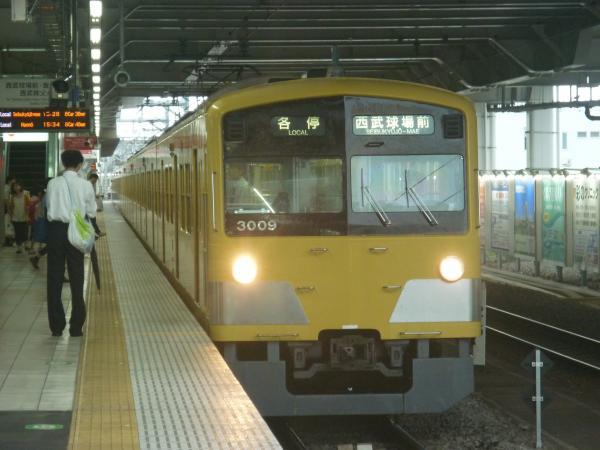 2014-07-05 西武3009F 各停西武球場前行き 5359レ