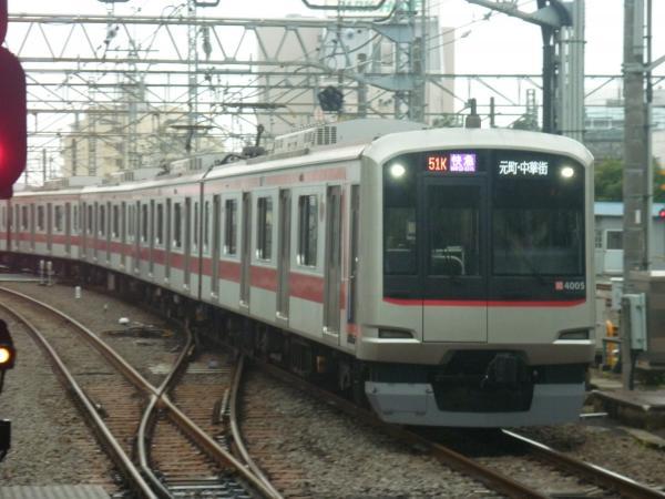 2014-07-05 東急4105F 快急元町・中華街行き 1862レ