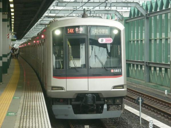 2014-07-05 東急5151F 各停元町・中華街行き 6664レ