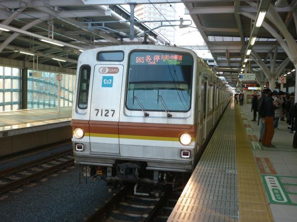 2014-01-18 メトロ7127F 各停元町・中華街行き