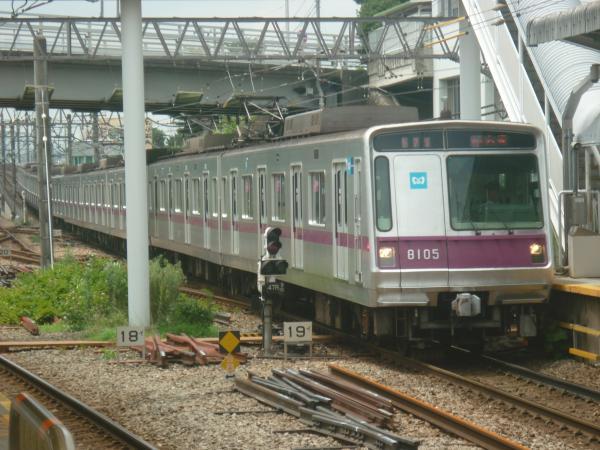 2014-07-21 メトロ8105F 急行久喜行き1