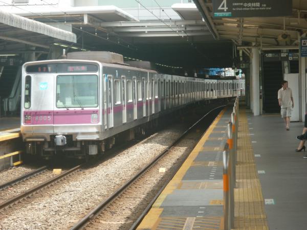 2014-07-21 メトロ8105F 急行久喜行き2