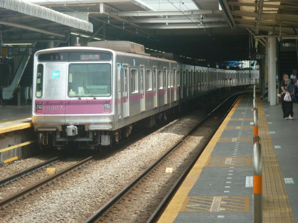 2014-07-21 メトロ8107F 準急久喜行き