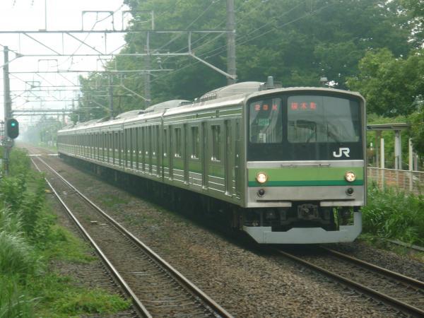 2014-07-21 横浜線205系クラH27編成 桜木町行き1