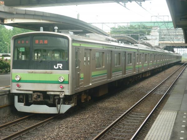 2014-07-21 横浜線205系クラH27編成 桜木町行き2