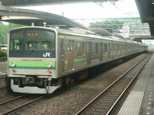 2014-07-21 横浜線205系クラH27編成 桜木町行き3