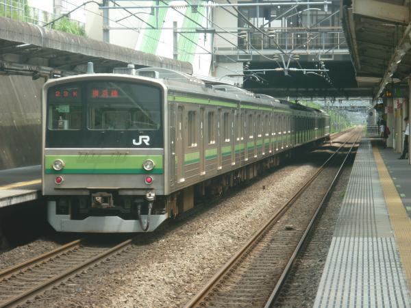2014-07-21 横浜線205系クラH27編成 東神奈川行き