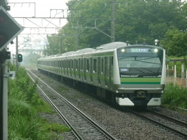 2014-07-21 横浜線E233系クラH011編成 各駅停車東神奈川行き1