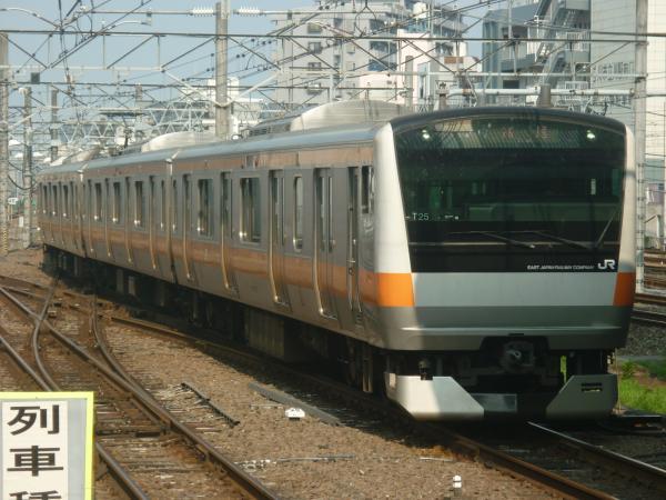 2014-07-21 中央線E233系トタT25編成 高尾行き