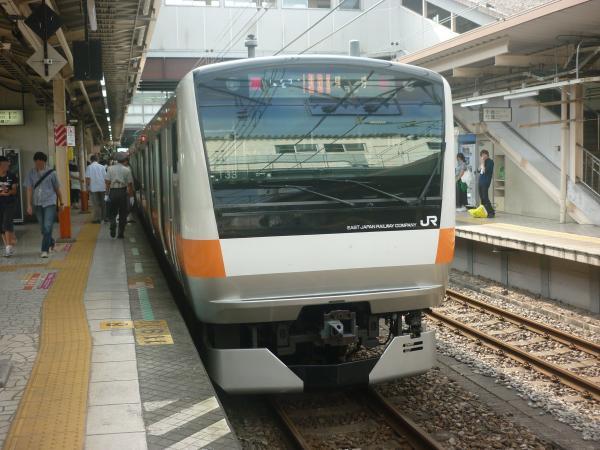 2014-07-21 中央線E233系トタT33編成 快速東京行き1