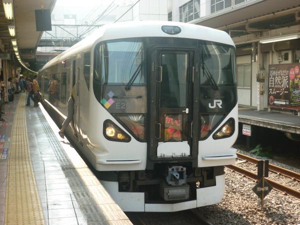 2014-07-21 中央線E257系 特急かいじ号新宿行き