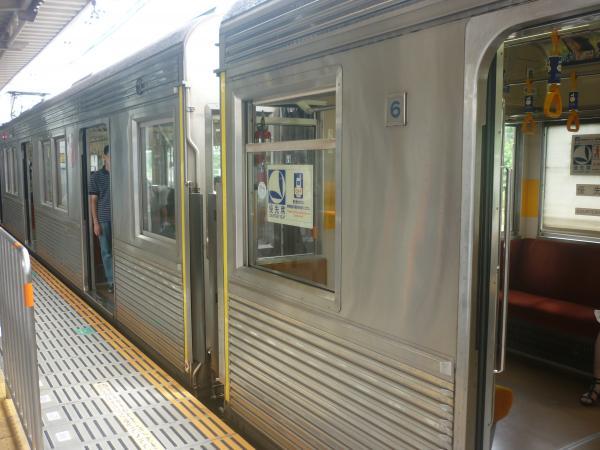 2014-07-21 東急8500系 車端部