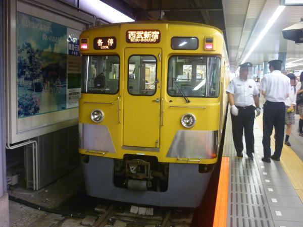2014-07-23 西武2007F 各停西武新宿行き 5636レ