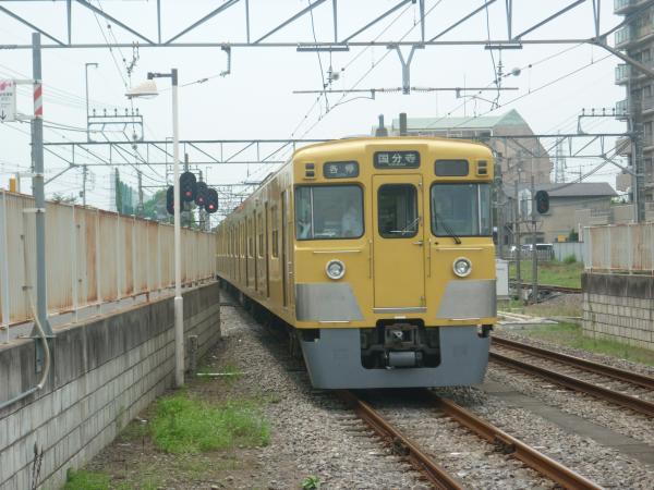 2014-07-23 西武2009F 各停国分寺行き 6664レ