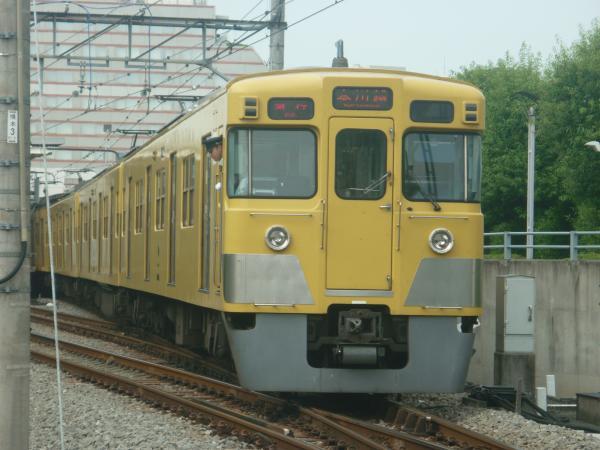 2014-07-23 西武2019F+2505F 急行本川越行き 2651レ