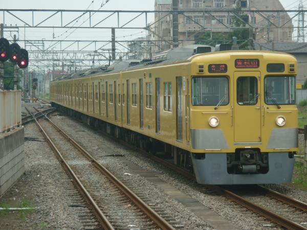 2014-07-23 西武2033F 各停東村山行き 6661レ