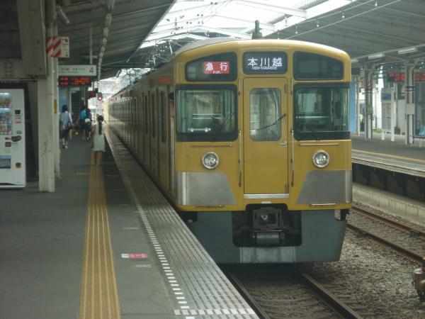 2014-07-23 西武2045F+2521F 急行本川越行き 2639レ
